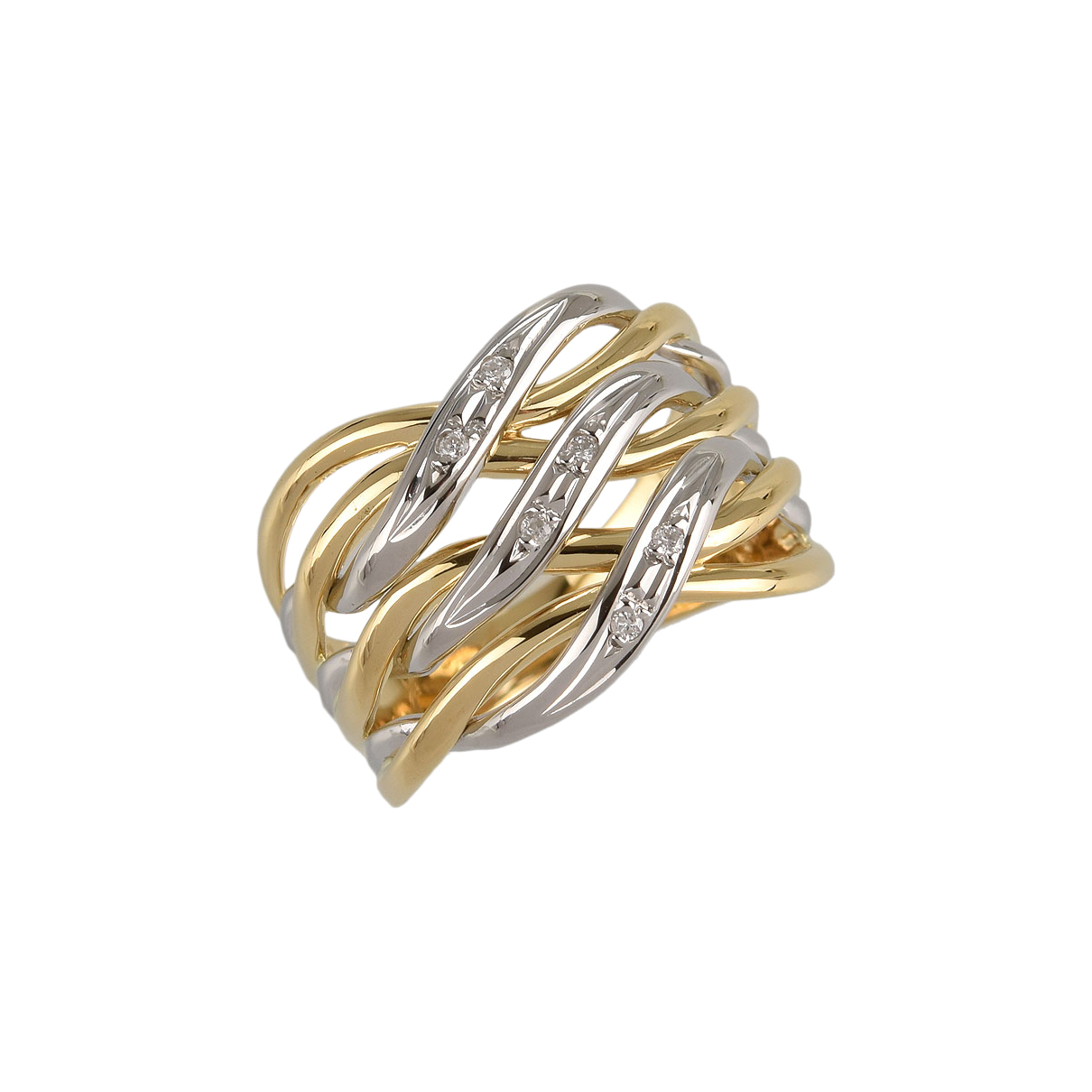 Non Signé / Unsigned \N Gold Yellow gold ring for Women 6 US