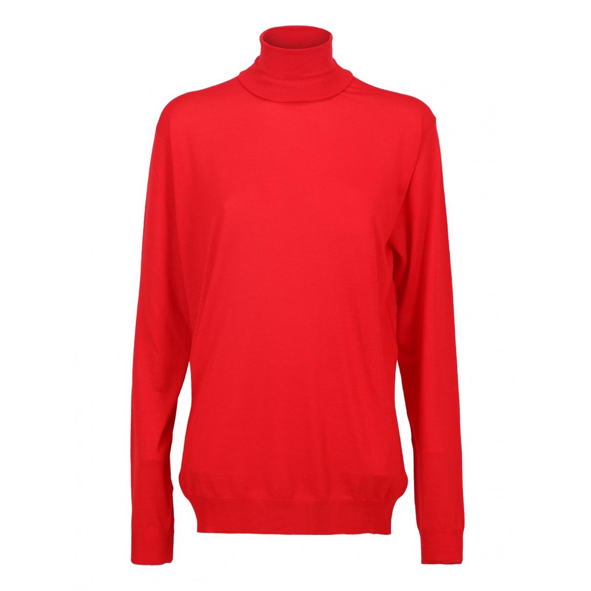 Prada \N Red Wool Knitwear for Women 42 IT