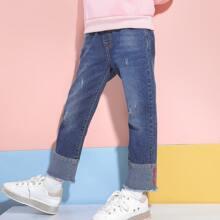 Taschen  Colorblocks Laessig Maedchen Jeans