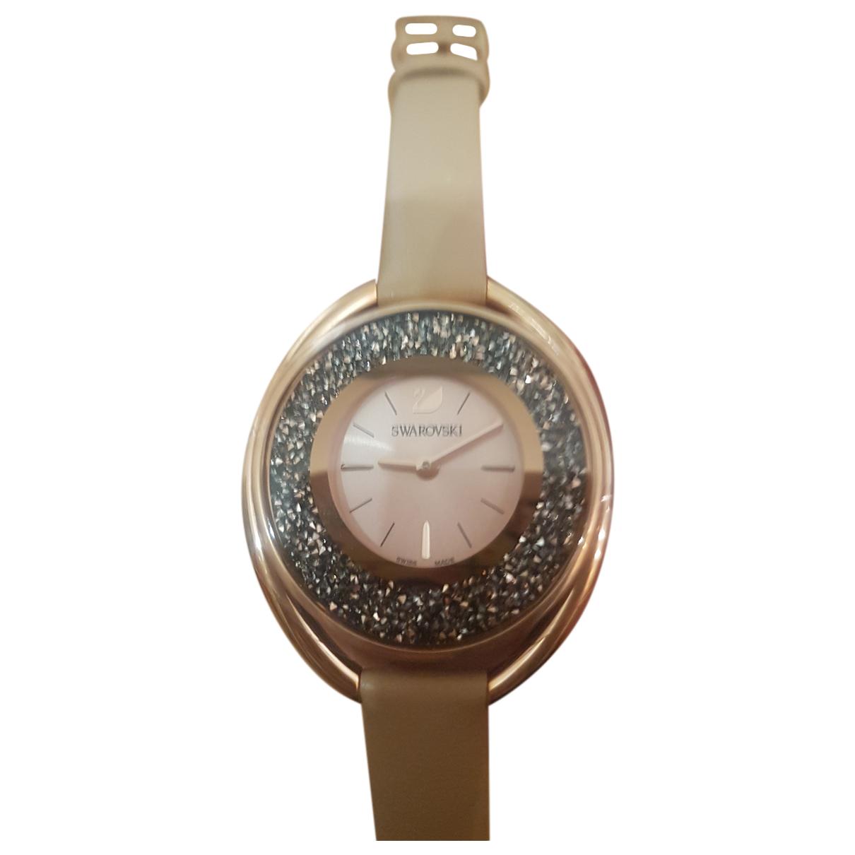Swarovski - Montre   pour femme en or rose - dore