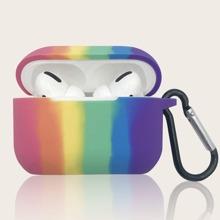 1 Stueck AirPods Etui mit Regenbogen Muster