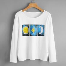 Sun & Moon Graphic Tee