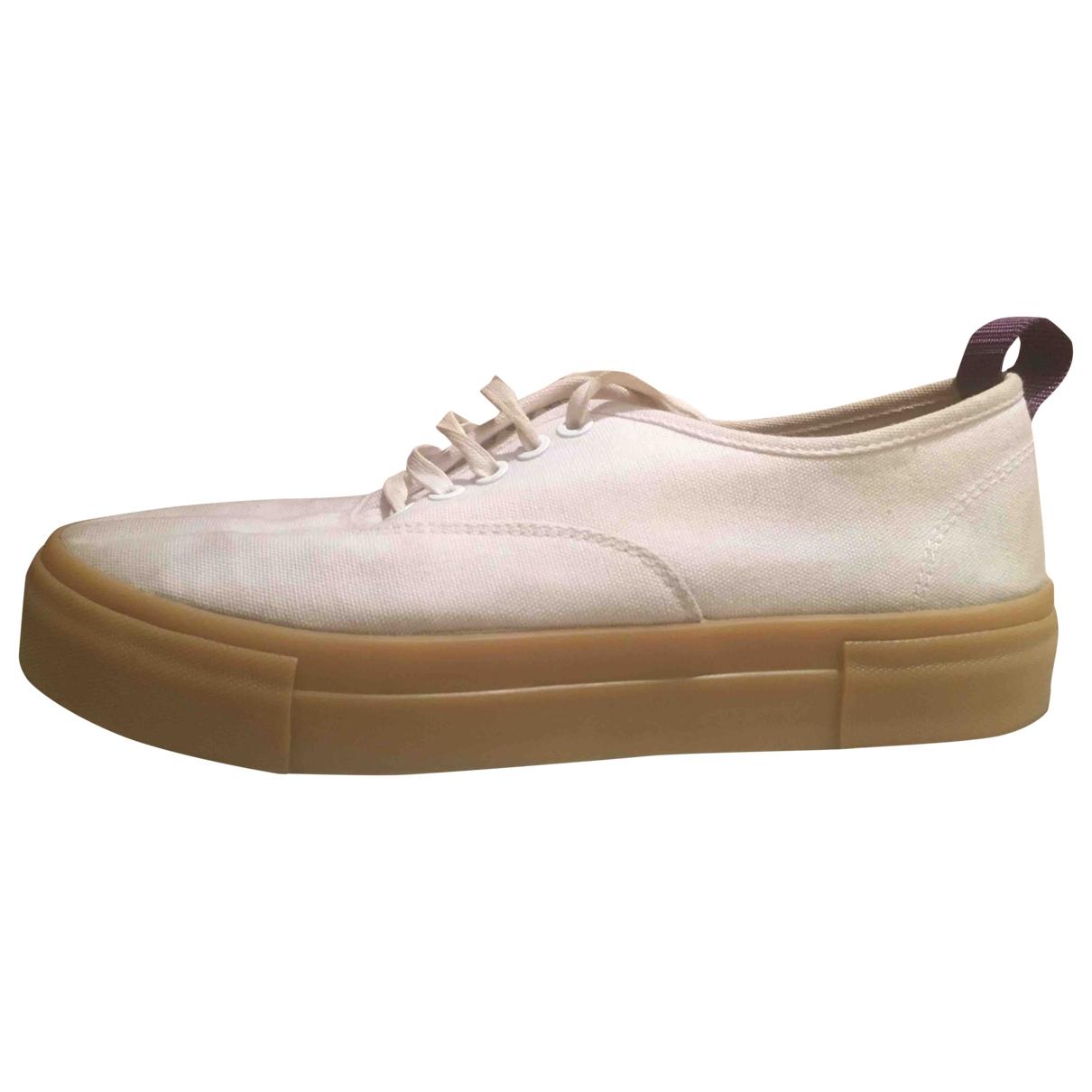 Eytys \N Sneakers in  Weiss Leinen
