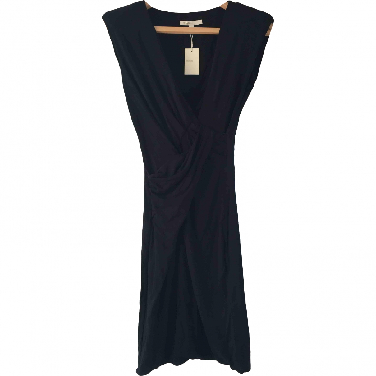 Maje \N Black dress for Women 36 FR