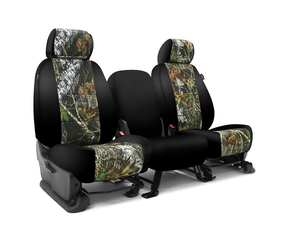 Coverking CSC2MO01CH10178 Skanda Custom Seat Covers 1 Row Neosupreme Mossy Oak Break Up with Black Sides Rear Chevrolet Silverado 1500 2019-2021