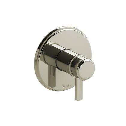 Momenti MMRD45JPN-EX 3-Way Thermostatic/Pressure Balance Coaxial Complete Valve Expansion Pex with J Lever Handles  in Polished