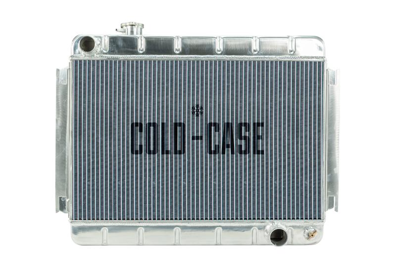 66-67 Chevelle / El Camino Aluminum Radiator MT Cold Case Radiators CHE542