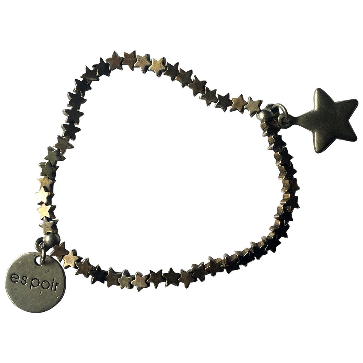 - Bracelet Motifs Etoiles pour femme en metal - dore