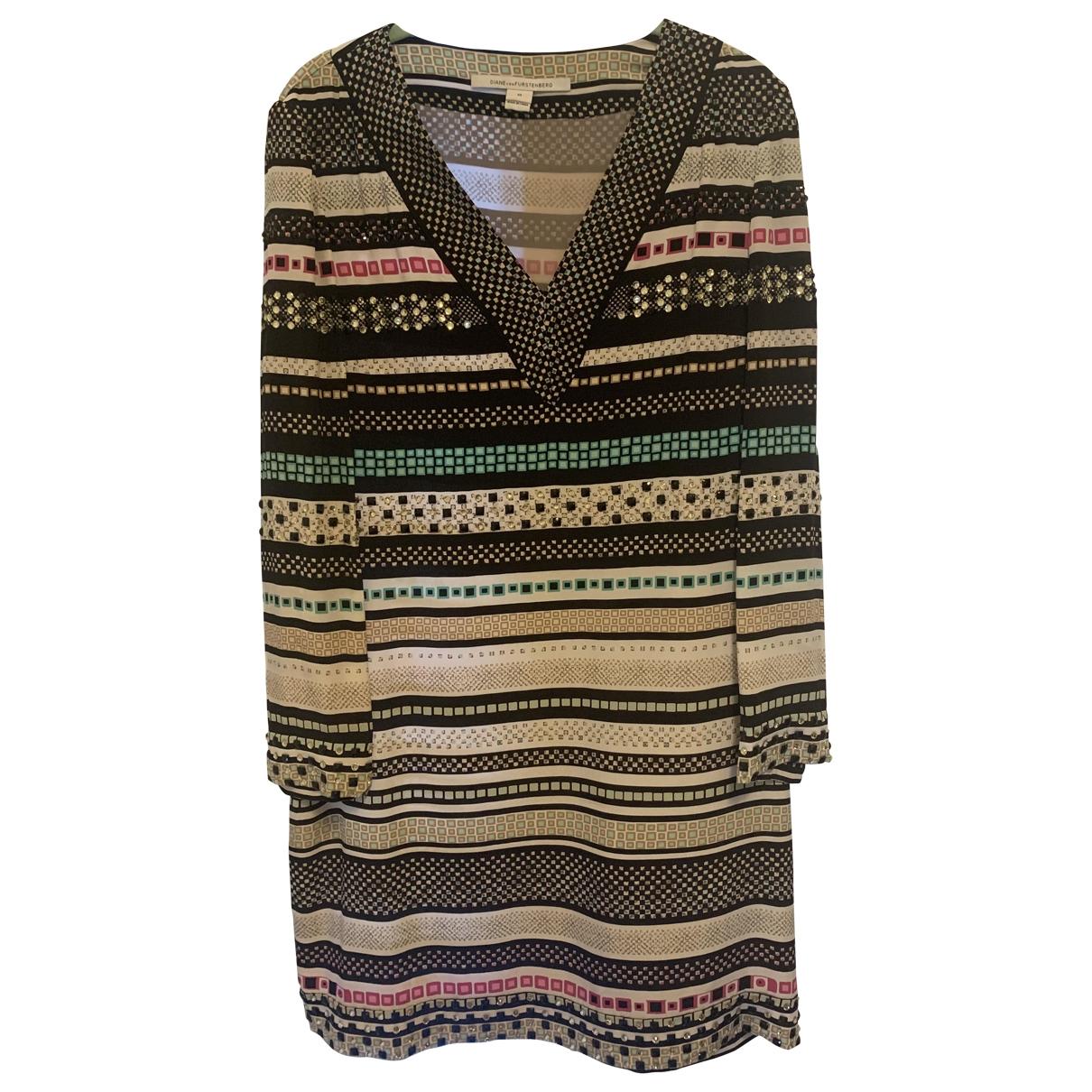 Diane Von Furstenberg \N Silk dress for Women 10 US