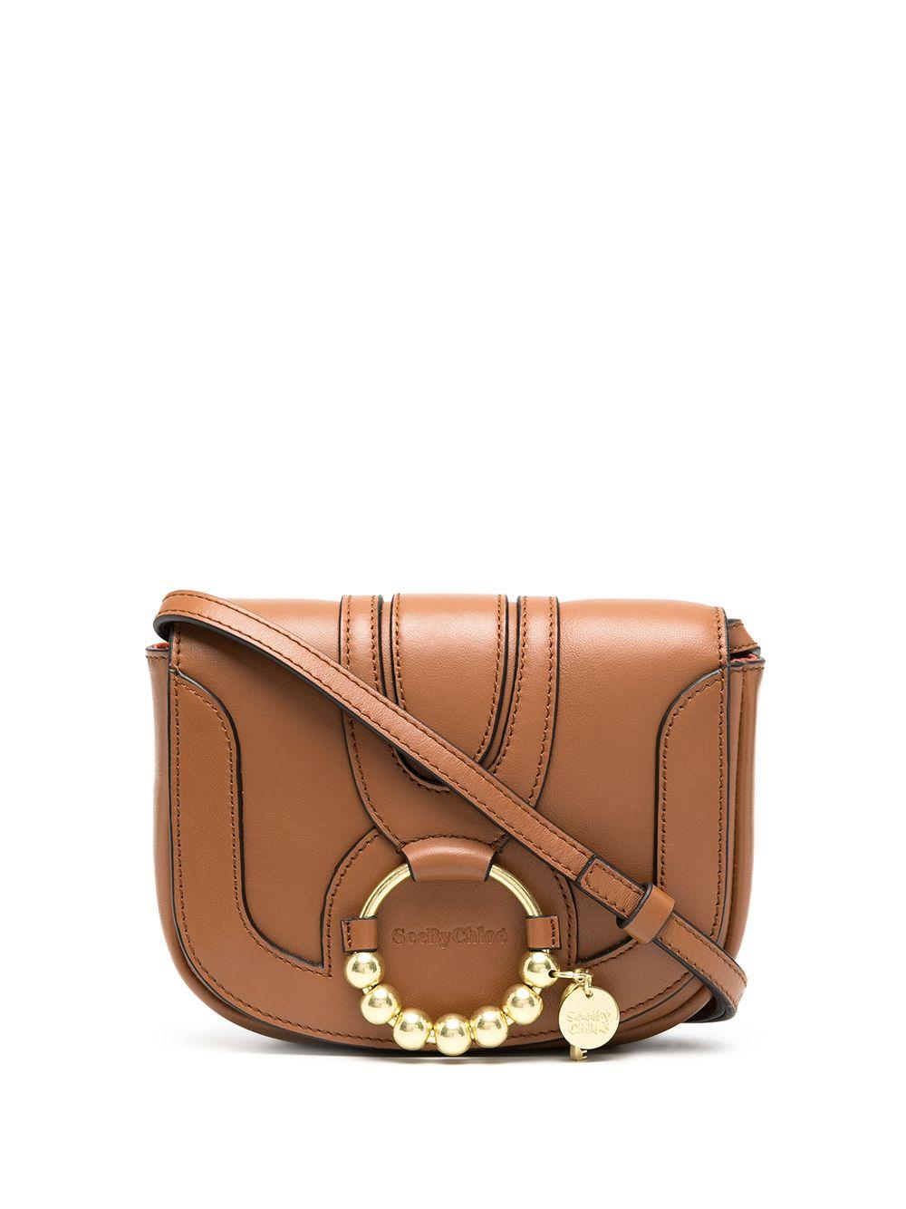 Hana Leather Crossbody Bag