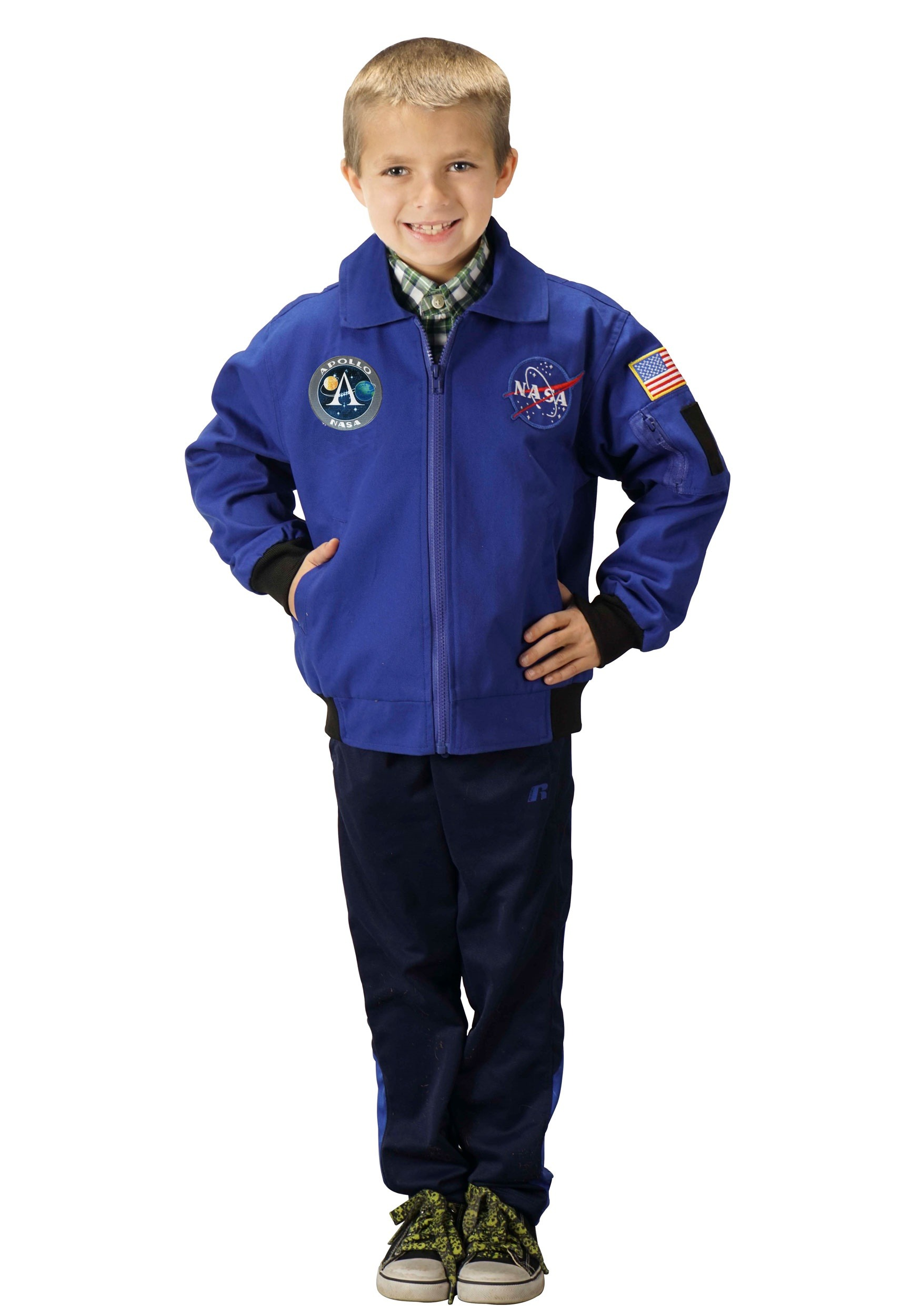 NASA Apollo 11 Kids Flight Costume Jacket