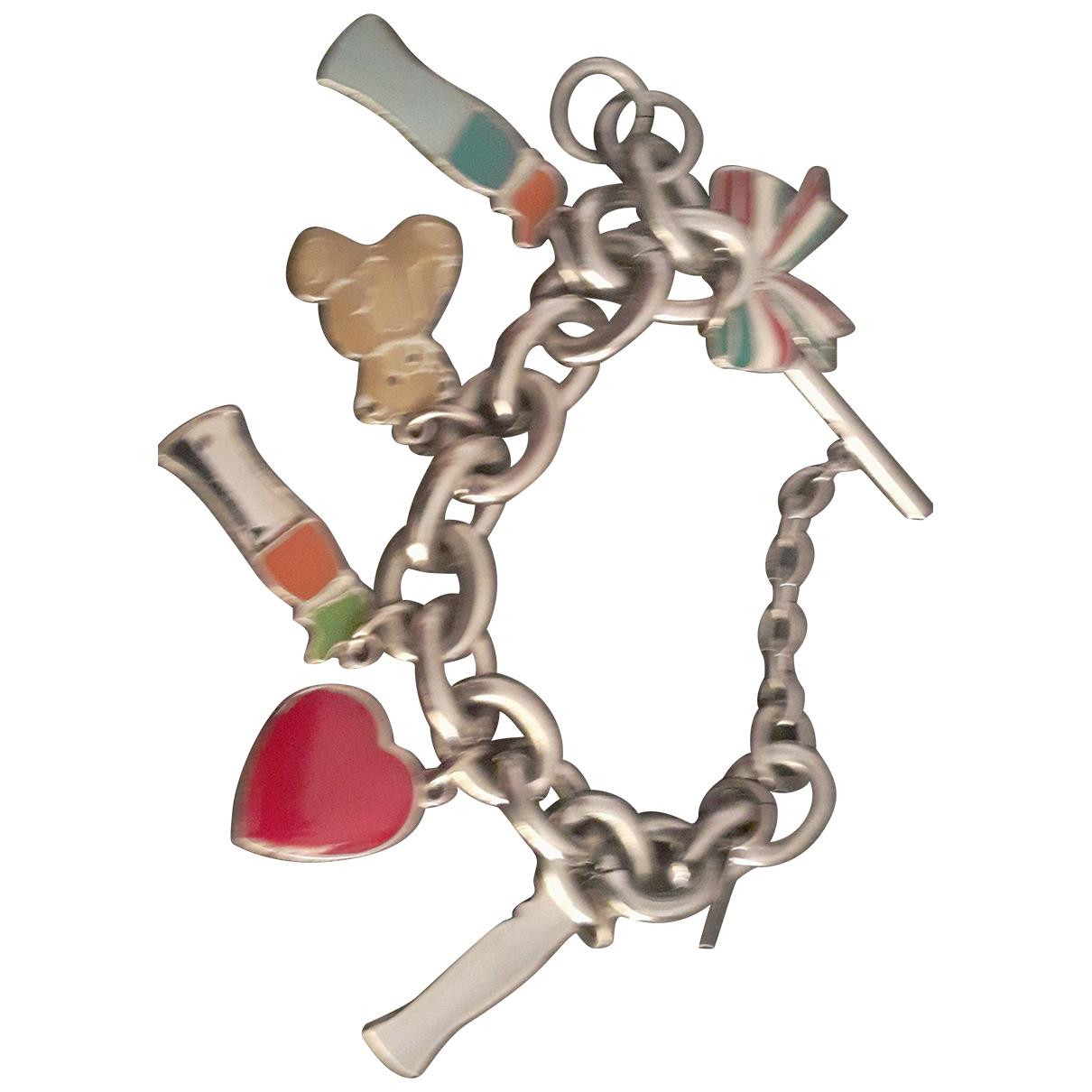 Moschino - Bracelet   pour femme en metal - multicolore