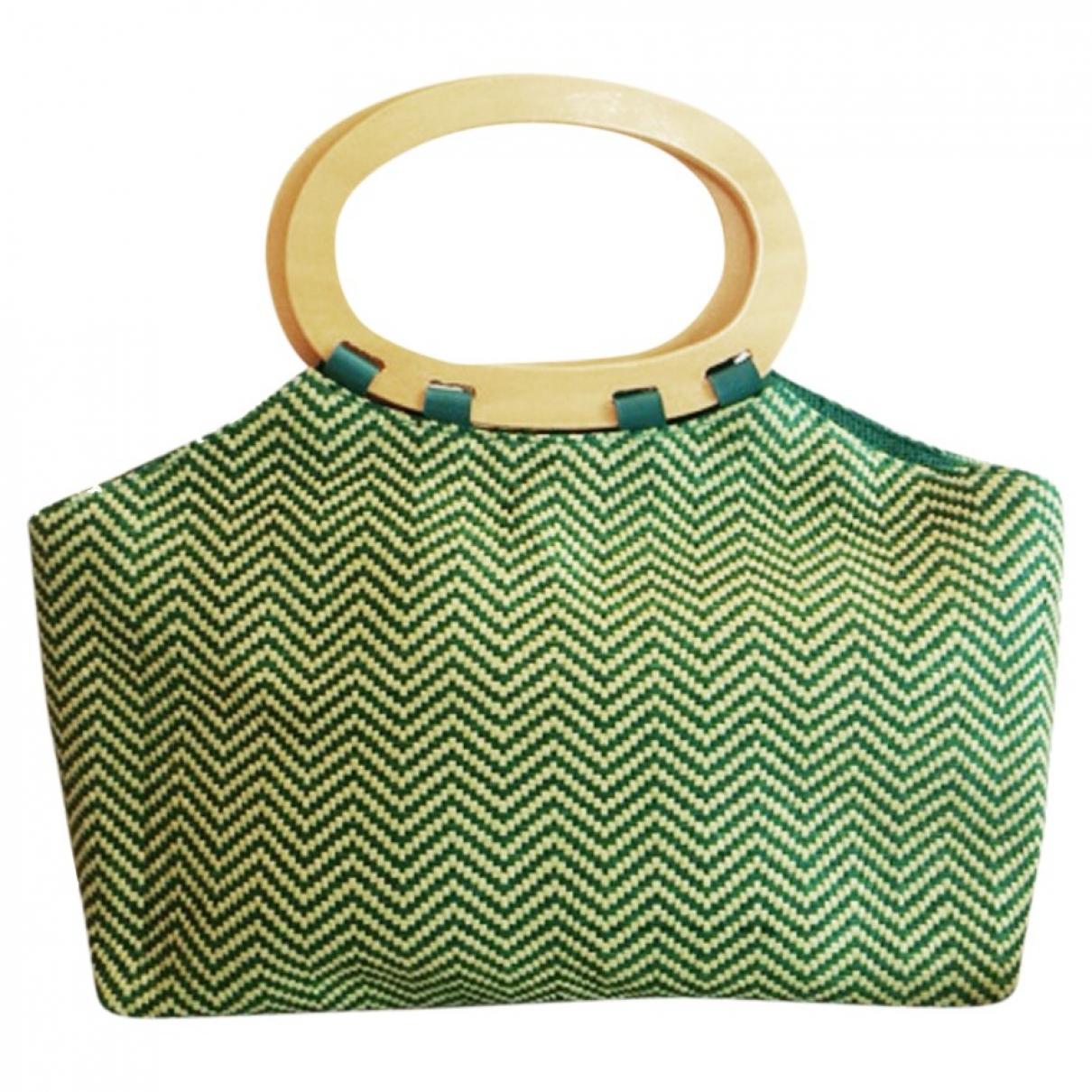 Marella \N Green Wicker handbag for Women \N