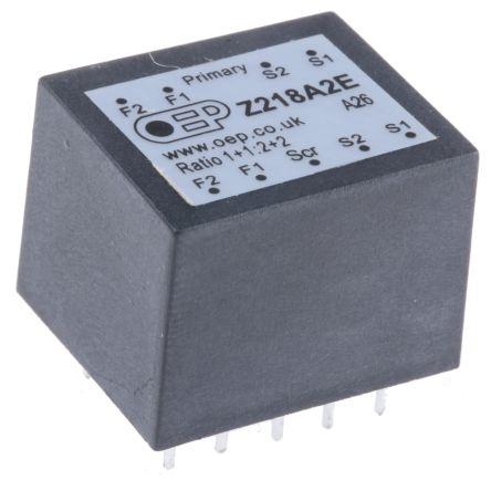 OEP 1+1 to 2+2 PCB Mount AF transformer