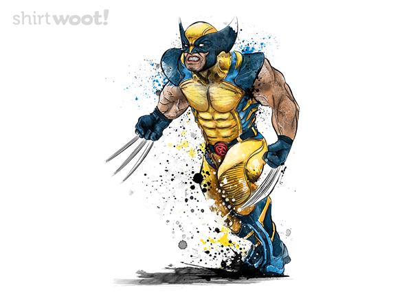Mutant Fury T Shirt
