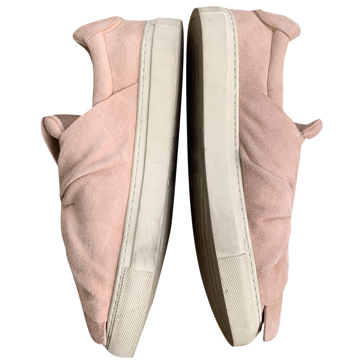 Ports 1961 \N Sneakers in  Rosa Veloursleder