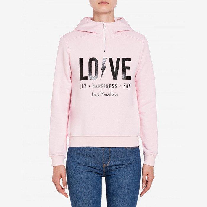 Love Moschino Lightning Logo Hoodie 6398-4165 L91