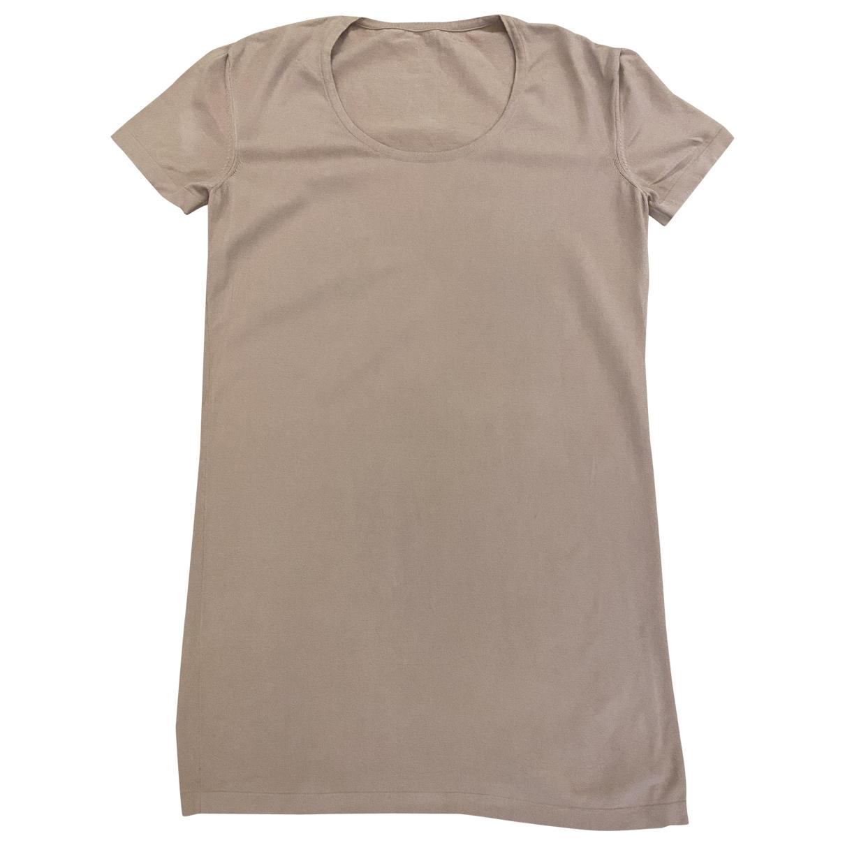 Wolford - Pull   pour femme en laine - beige