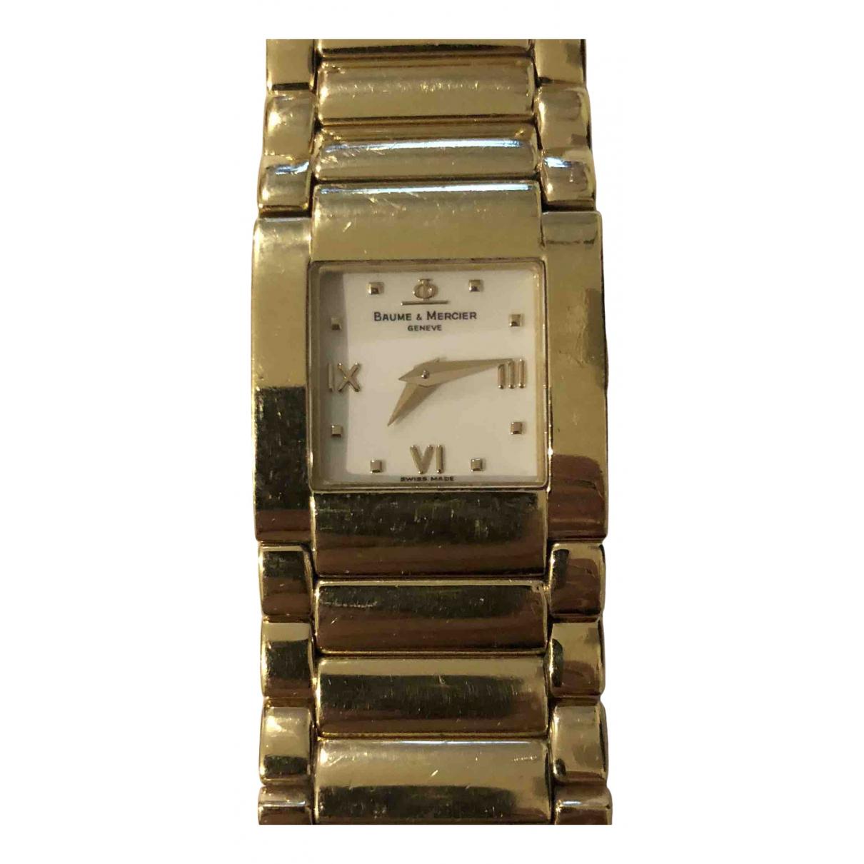 Baume Et Mercier Catwalk Uhr in  Gold Gelbgold