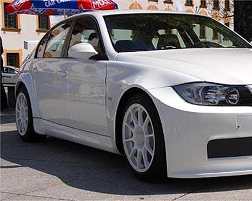 Flossman Carbon WTC Side skirts BMW E90 3-Series 06-11
