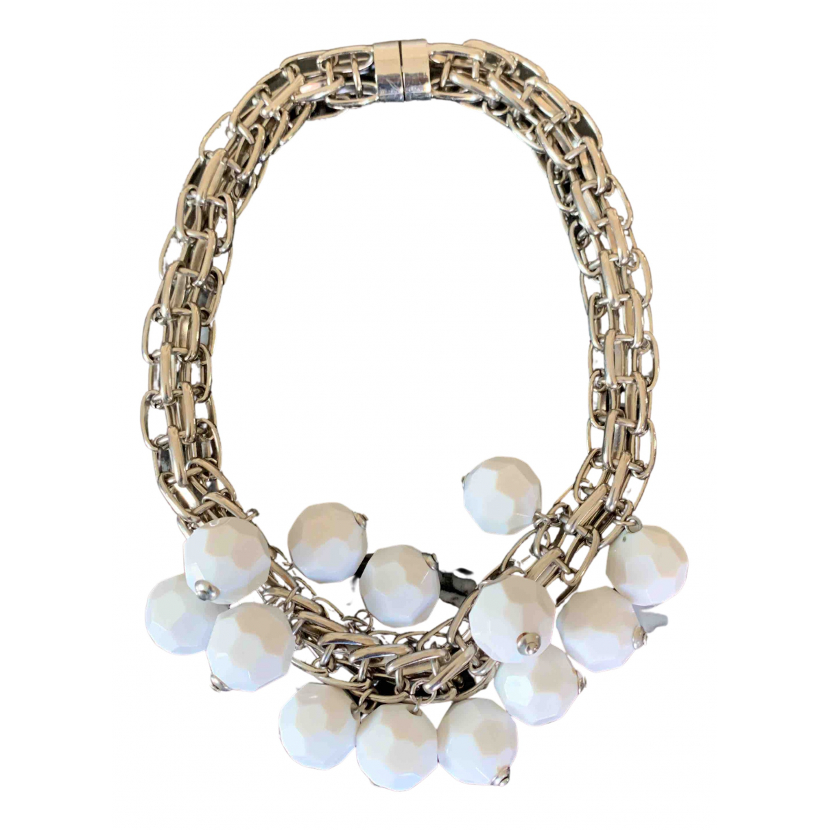 Marni N White Metal necklace for Women N
