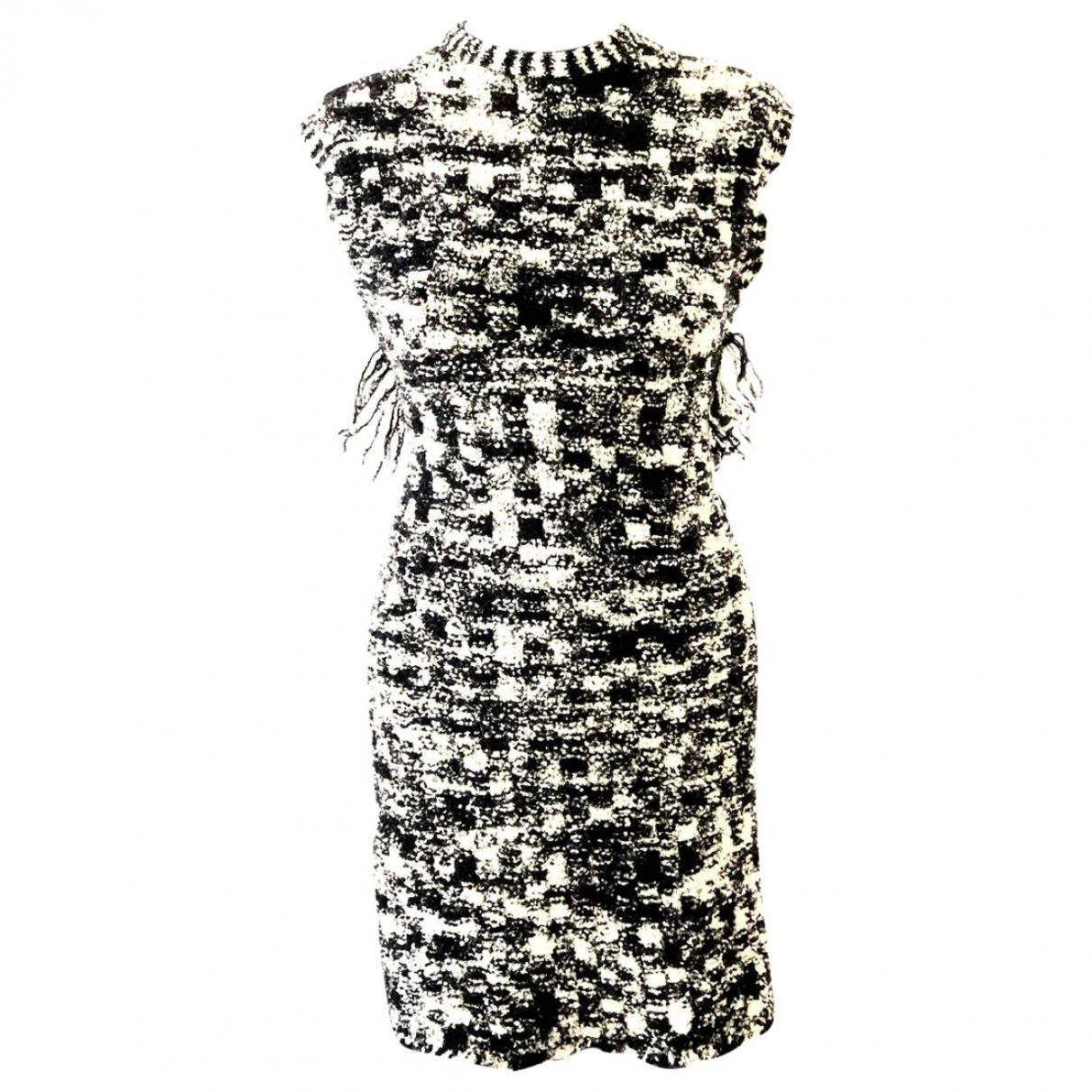 Chanel - Robe   pour femme en laine - multicolore