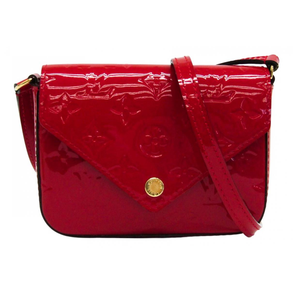 Louis Vuitton - Sac a main   pour femme en cuir verni - rose