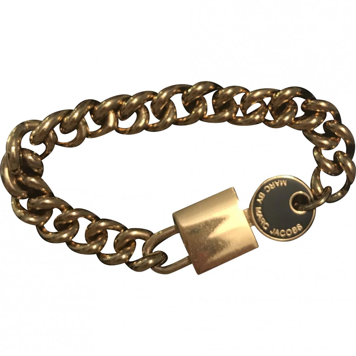 Marc By Marc Jacobs - Bracelet   pour femme en metal - dore