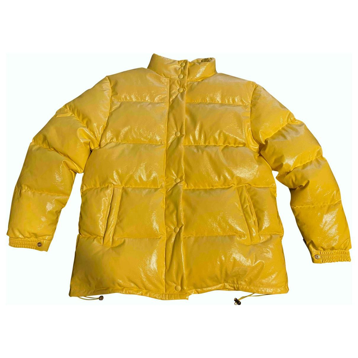 Alberta Ferretti N Yellow coat for Women 42 IT