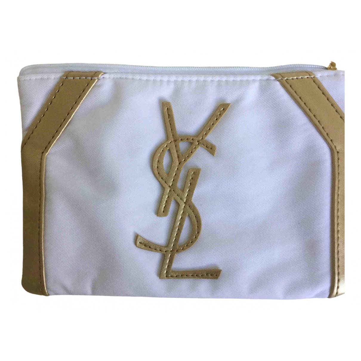 Yves Saint Laurent \N White Purses, wallet & cases for Women \N