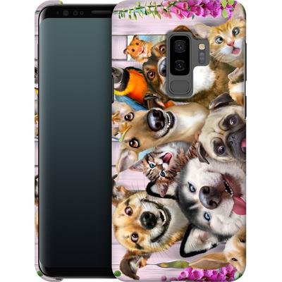 Samsung Galaxy S9 Plus Smartphone Huelle - Pet Selfie von Howard Robinson