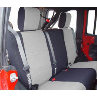 Coverking Neoprene 60/40 Rear Seat Cover (Black/Gray) - SPC190