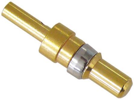 HARTING Male Crimp D-Sub Connector Power Contact, Gold Plated Power, 12 → 10 AWG