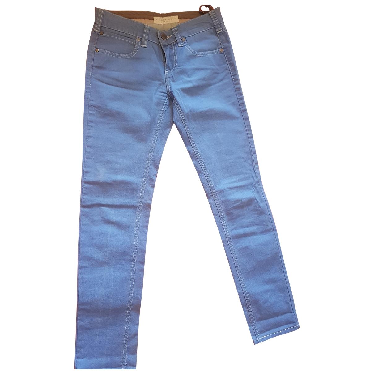Stella Mccartney \N Blue Cotton Jeans for Women 25 US