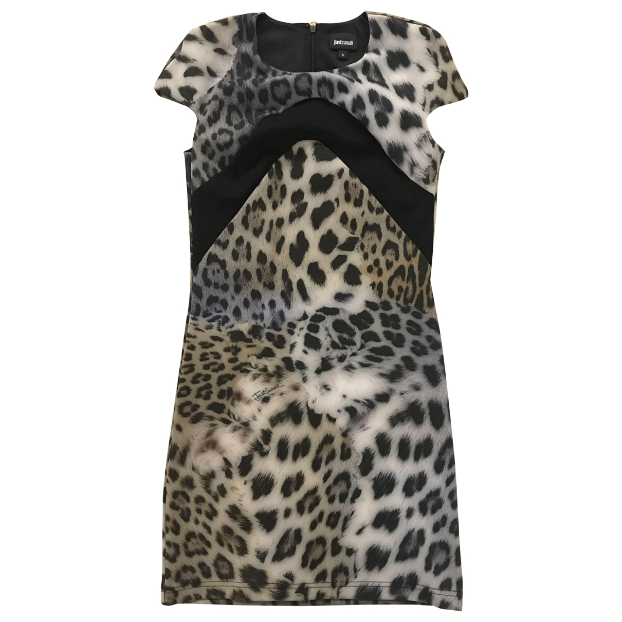 Just Cavalli \N Kleid in  Bunt Polyester
