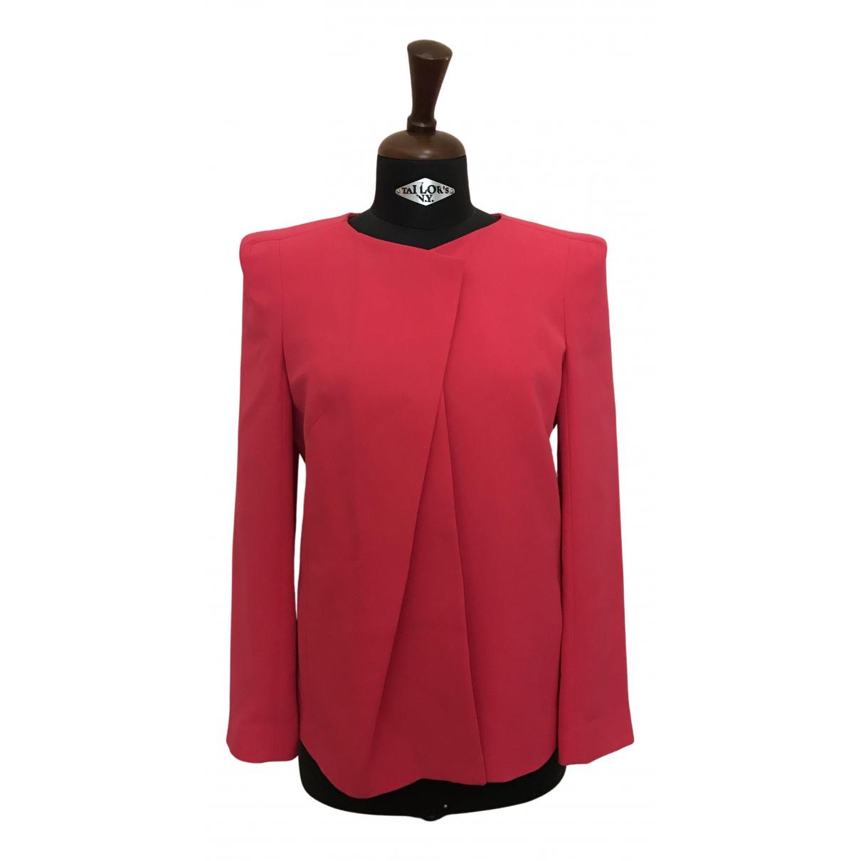 Giorgio Armani N Pink Silk jacket for Women 44 IT