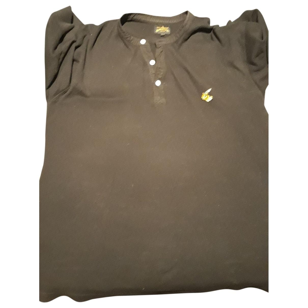 Vivienne Westwood Anglomania - Polos   pour homme en coton - noir