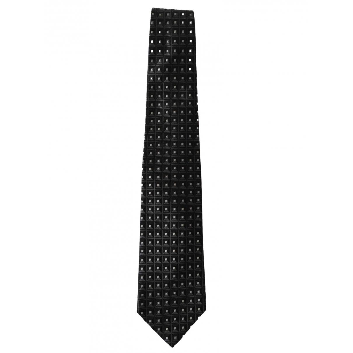 Ermenegildo Zegna \N Krawatten in  Grau Seide