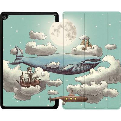Amazon Fire HD 8 (2018) Tablet Smart Case - Ocean Meets Sky von Terry Fan