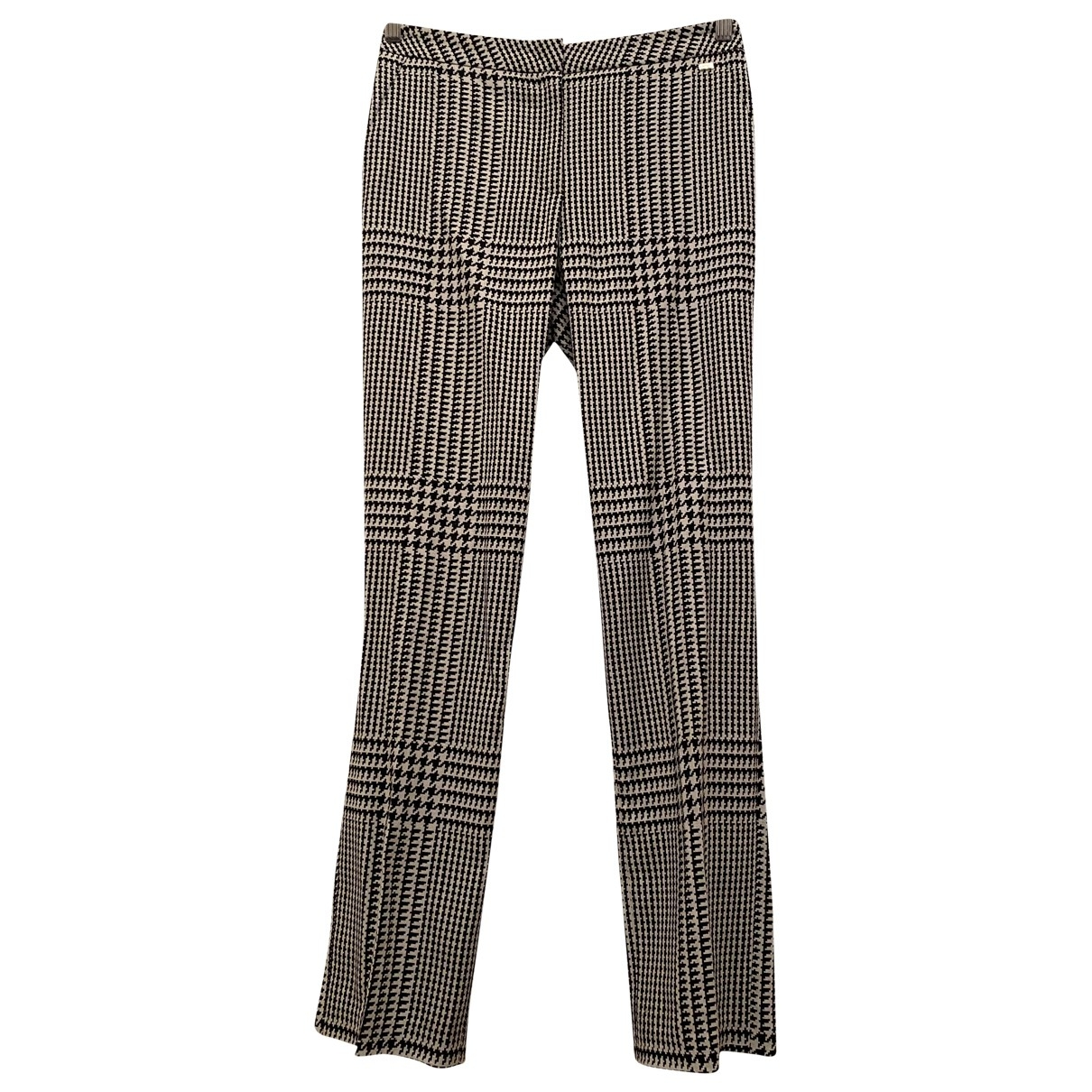 Pantalon recto de Lana Escada