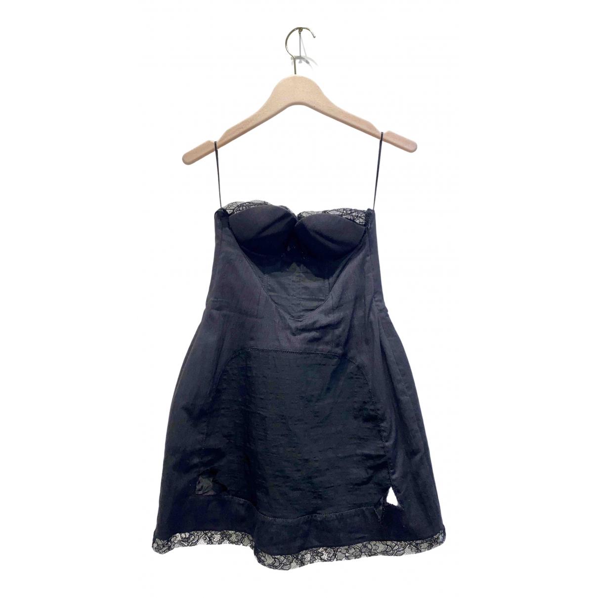 Rochas - Robe   pour femme en coton - noir