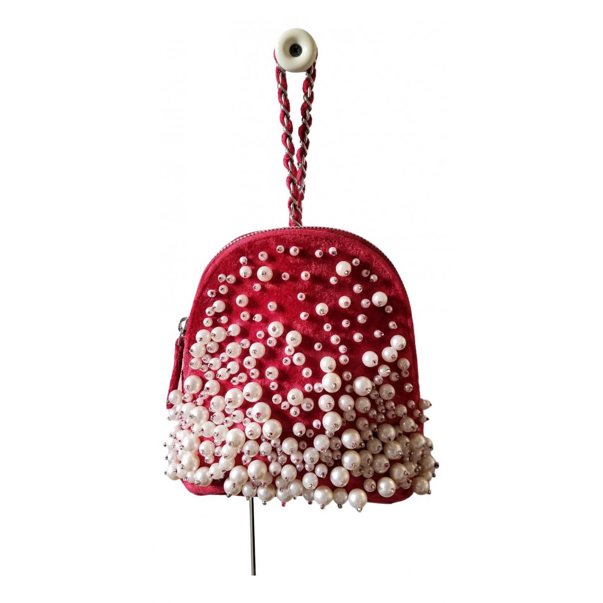 Asos \N Red Velvet handbag for Women \N