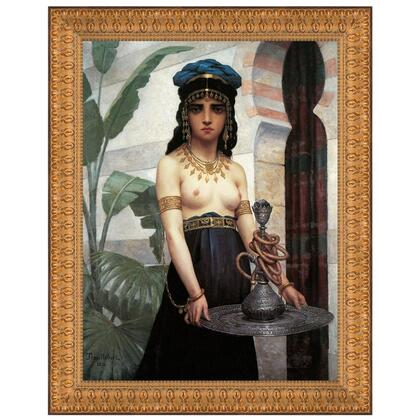 DA4372 23.5X29 The Harem Servant Girl