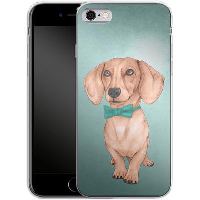 Apple iPhone 6 Silikon Handyhuelle - Dachshund the Wiener Dog von Barruf