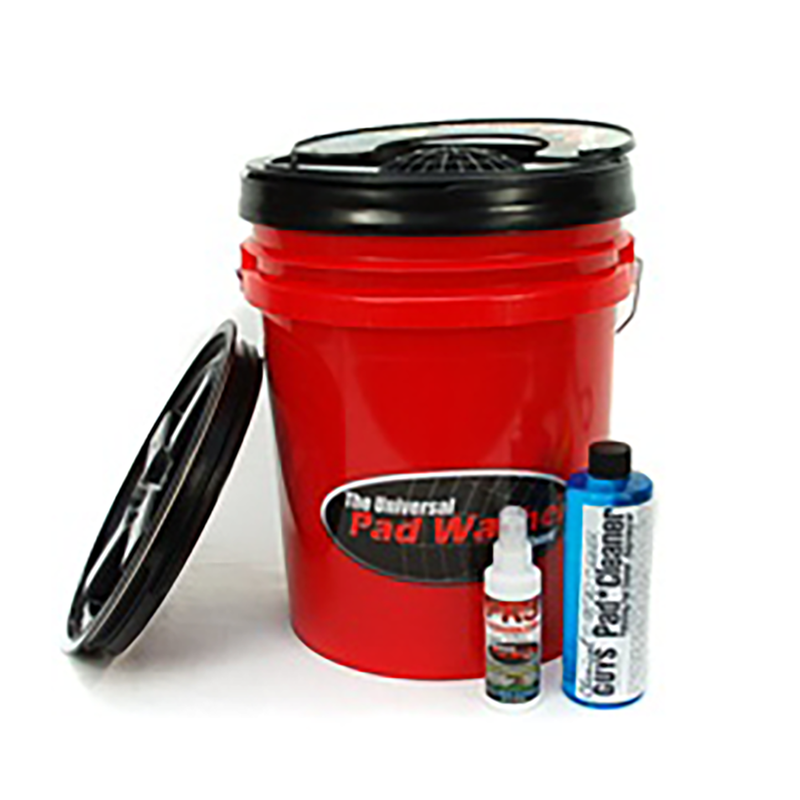 Grit Guard Universal Pad Car Washer With Pad & Wool Cleaner Kit - Chemical Guys
