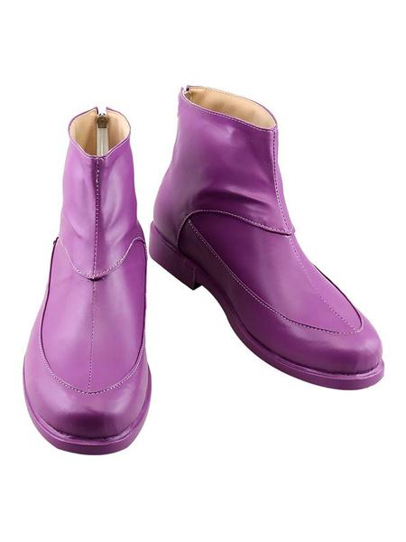 Milanoo Jojos Bizarre Adventure Steel Ball Run Funny Valentine Cosplay Shoes