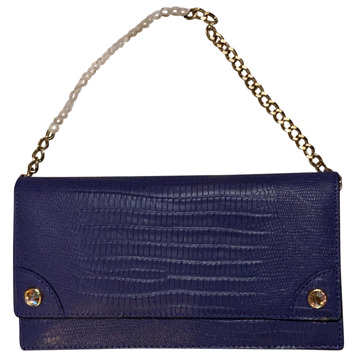 Juicy Couture \N Purple Leather Purses, wallet & cases for Women \N