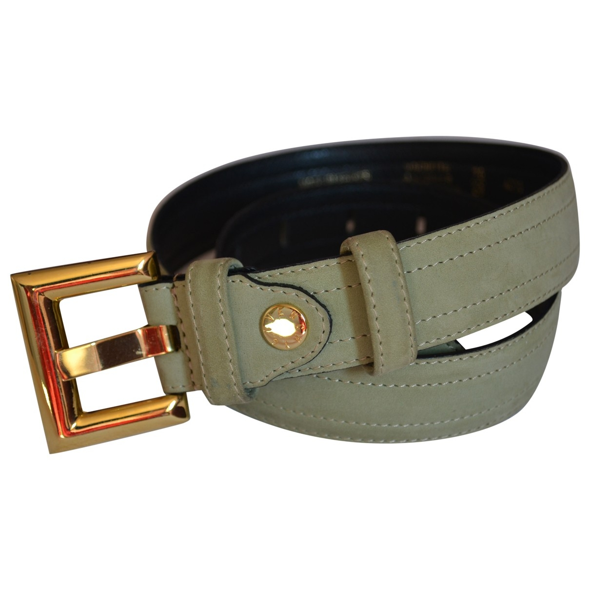 Givenchy \N Green Suede belt for Women 70 cm