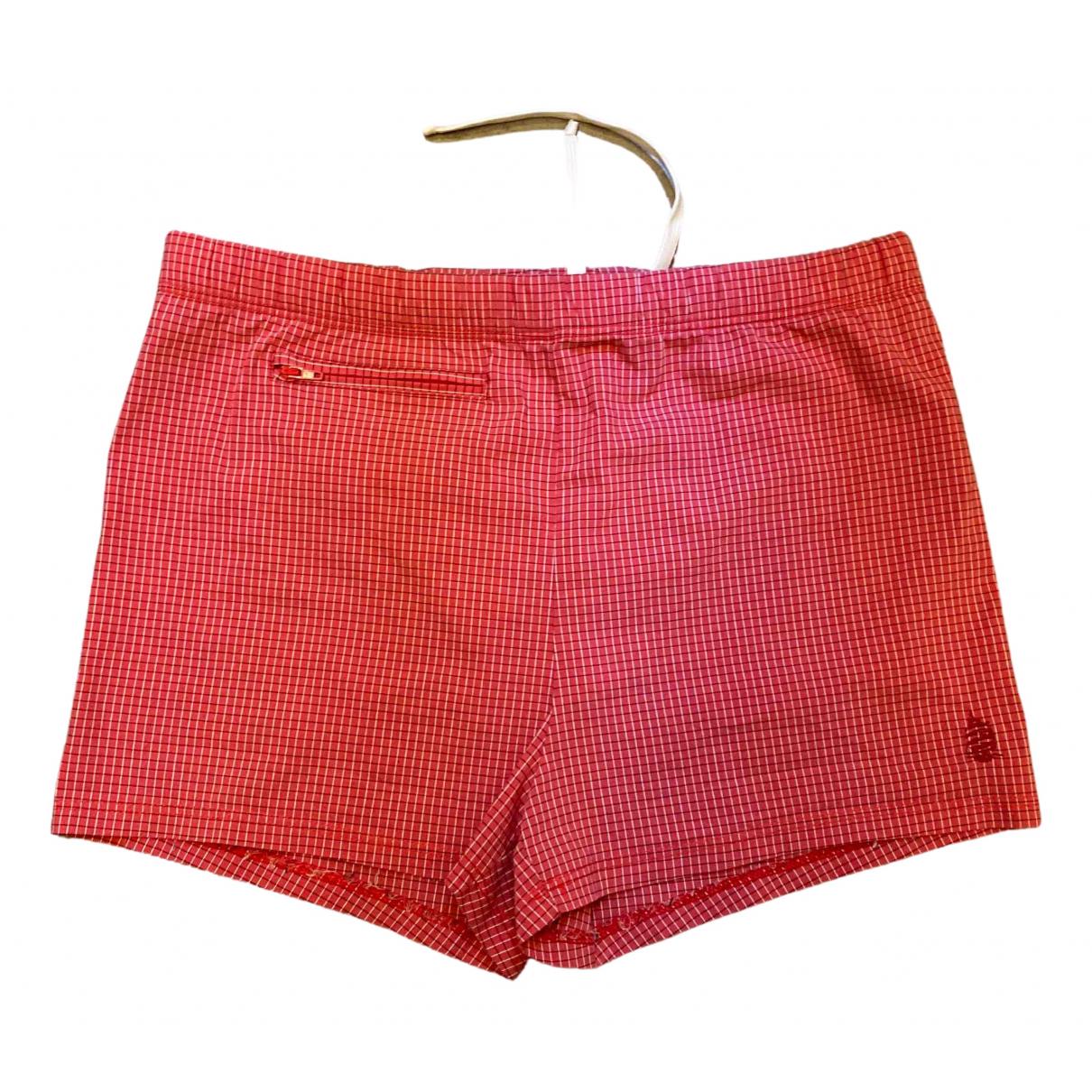 Marina Yachting - Bain   pour homme en coton - elasthane - rouge