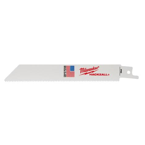 Milwaukee 6 in. M12 Hackzall® 40 PVC Bi-Metal Blade
